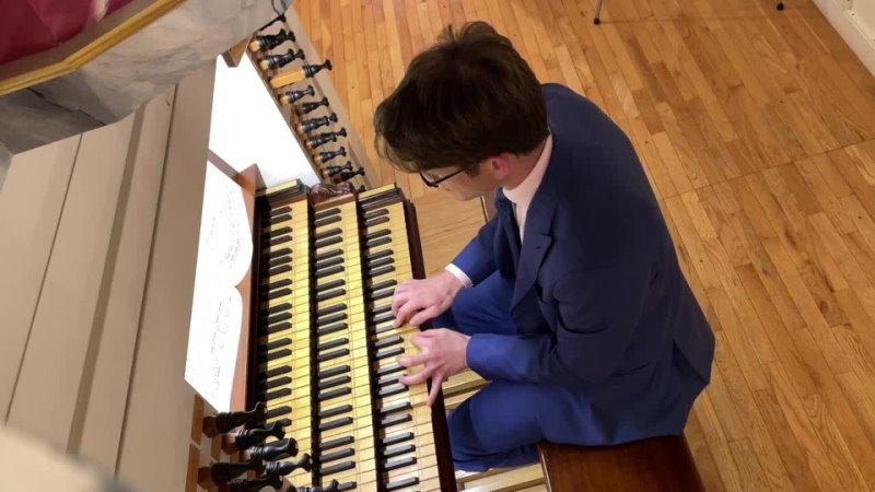 """1118 J S Bach Werde munter mein Gemüte"""" Neumeister Collection BWV 1118 Bálint Karosi"""