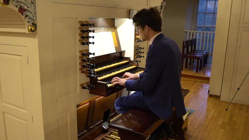 """1116 J S Bach Was Gott tut das ist wohlgetan"""" Neumeister Collection BWV 1116 Bálint Karosi"""