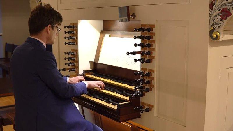 "1103 J S Bach Erhalt uns Herr bei deinem Wort"" Neumeister Collection BWV 1103 Bálint Karosi"