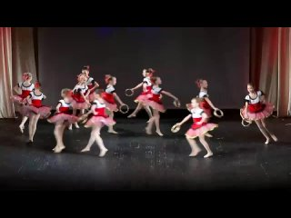 Тарантелла Детская балетная студия Музыкального театра РК группа Зефирки