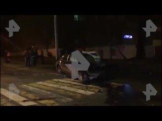 Иномарке снесло перед в дтп с пострадавшими в москве