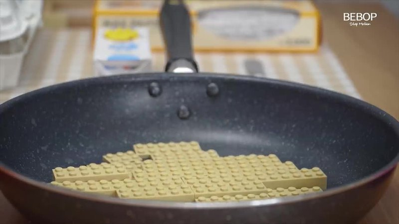 Lego Pancakes Lego In Real Life 7 Stop Motion Cooking & ASMR