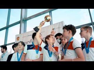 Видеосюжет о дебютных детских соревнованиях по водному поло в стенах клуба «Люби фитнес»