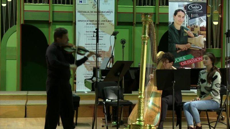 1020 J S Bach Sonata in G minor BWV 1020 Anh III 184 Maria Bildea Harp Sergiu Nastasa Violin