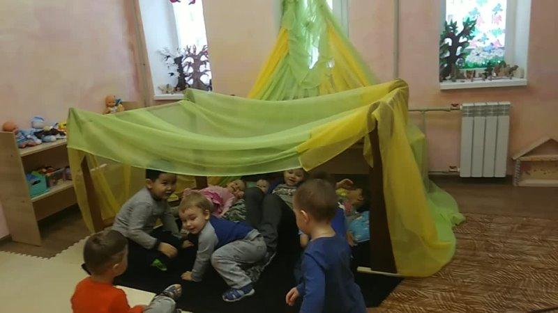 Город мечты в детском садике Улыбки