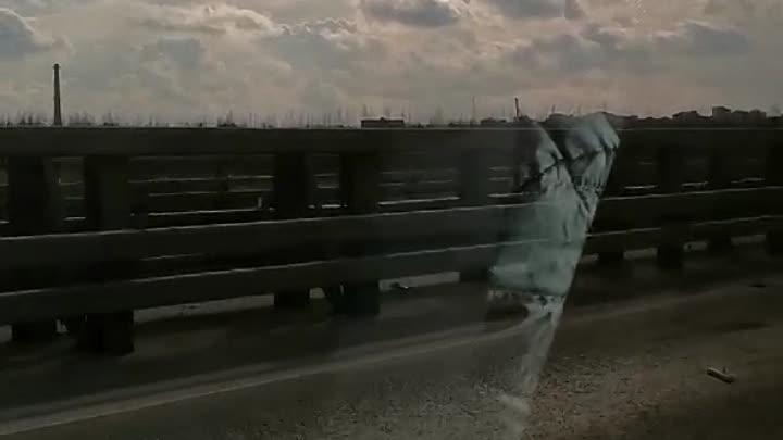 Две аварии на дамбе, ближе к Кронштадту, около 16:00.