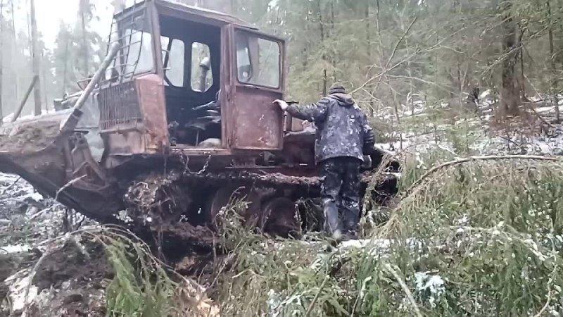 Самовытаскивание ТДТ 55