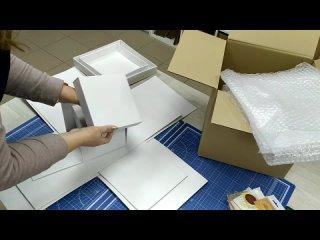 упаковка коробки для шоколадок для отправки