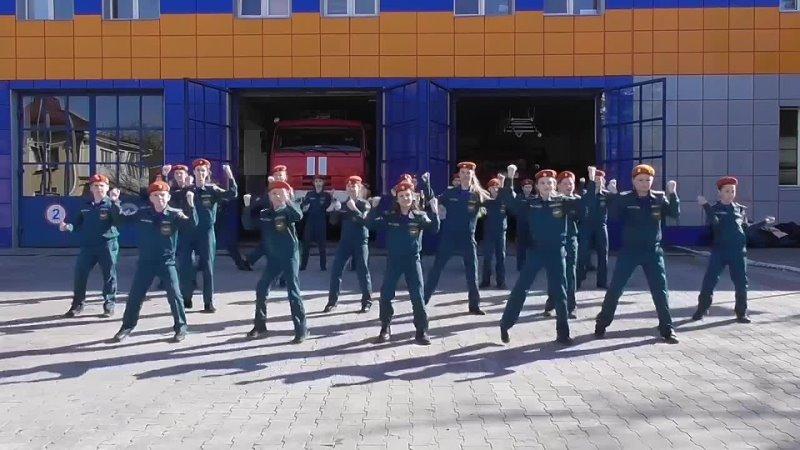 флэшмоб=Останови огонь=кадетов СОШ № 60 г Севастополь mp4