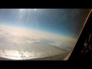Перехват американского разведчика самолётом Миг-31 армии России.