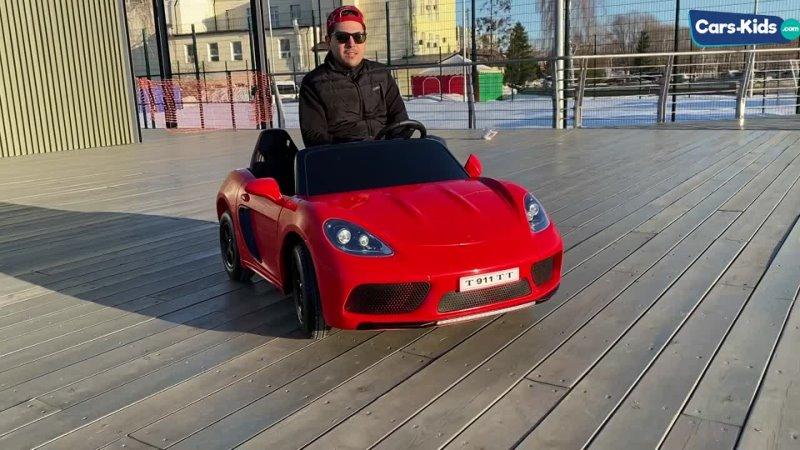 Электромобиль Porsche Cayman до 15 км ч