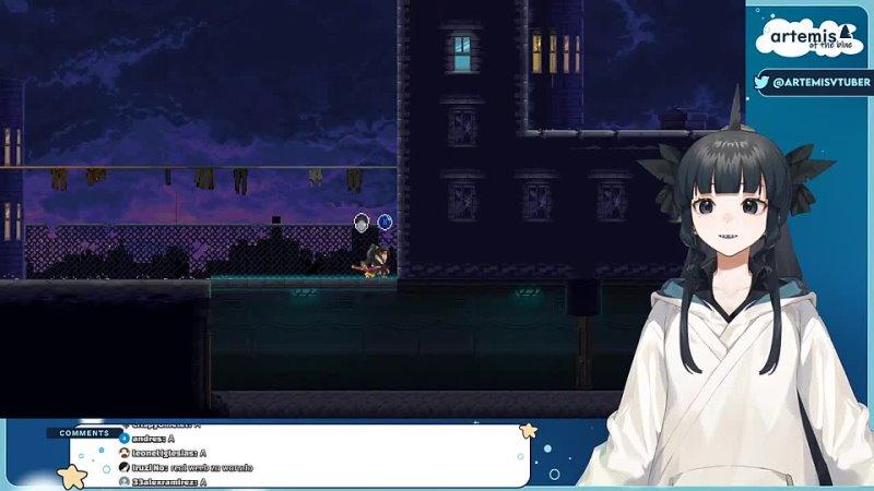 [Artemis of the Blue Ch.] 【Katana Zero】my blade has been folded zero times