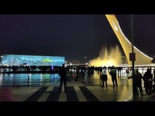 Музыкальный фонтан в Олимпийском парке Сочи (Адлер)