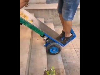 Отличный аппарат для лестницы