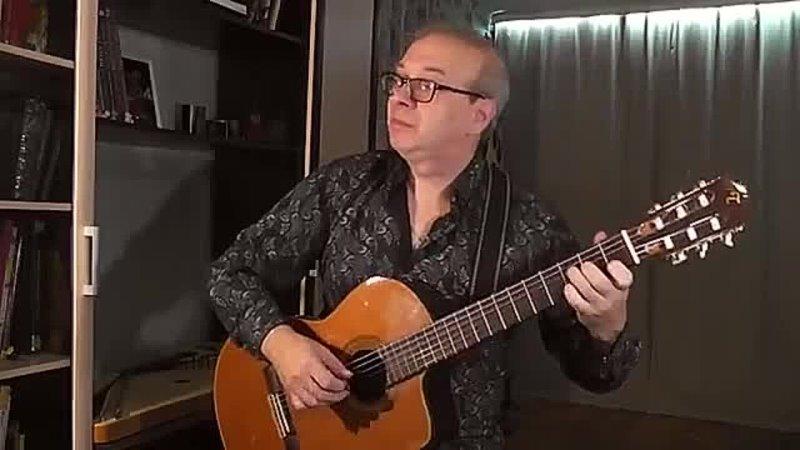 Поппури из советских песен на гитаре Виртуоз