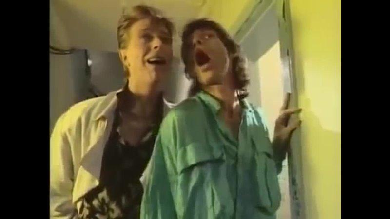 David Bowie Mick Jagger - Dancing in the Street (без сопровождения)