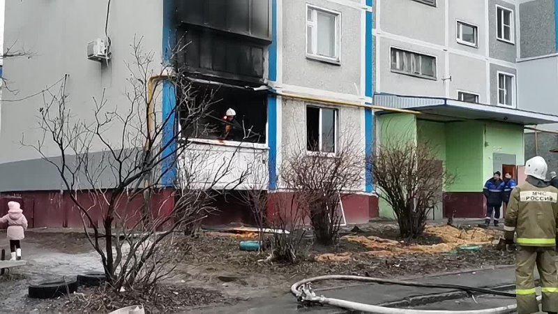 Live Курск наш город Пожар на ул Мыльникова