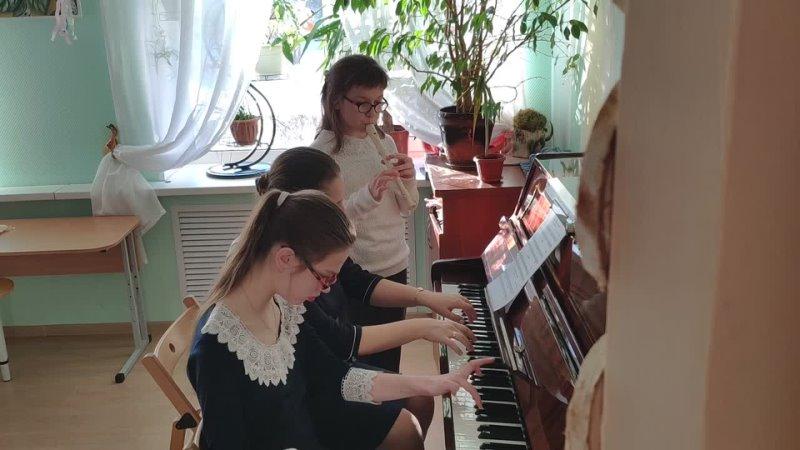 Инклюзивный дуэт Моцарт Аллегретто
