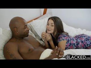 BLACKED Dani Daniels   Allie Haze Interracial Threesome
