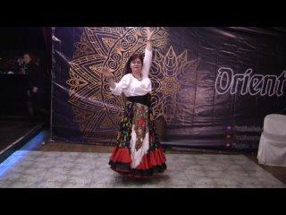 Лариса Шаматонова, цыганский танец ,Мохнатый шмель.