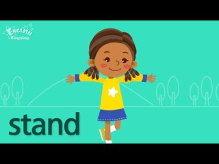 Kids vocabulary - Action Verbs  - Learn English for kids - Educational video