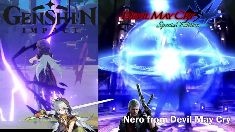 For those who don't know Razor's moveset is based off Deadweight Nero from Devil May Cry
