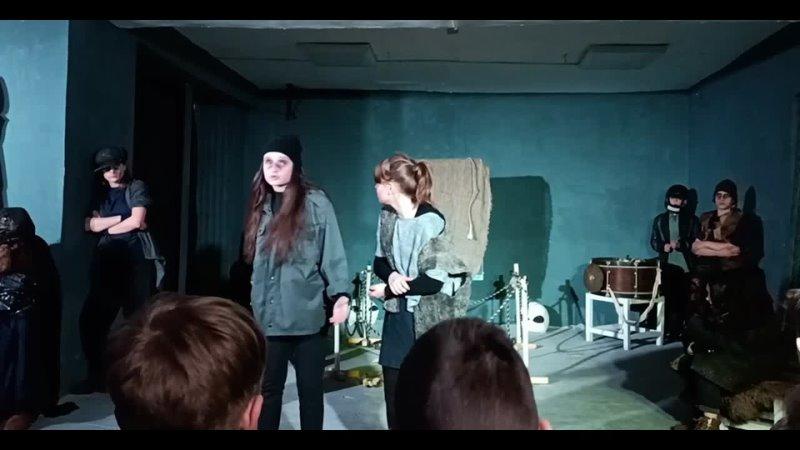 театр студия ЗЕРКАЛО ДНТ 1 04 2021 премьера спектакля УЛЫБКА