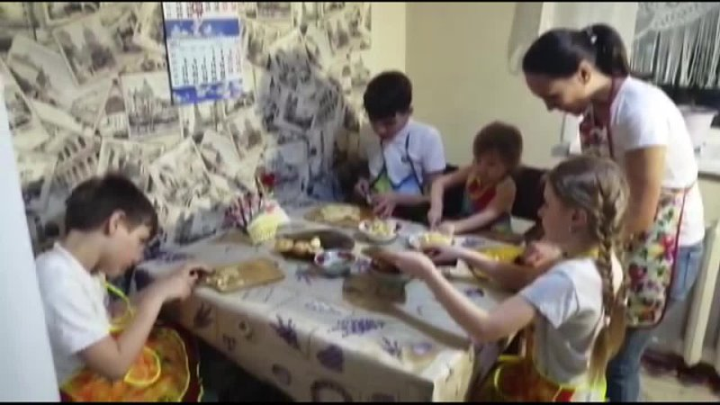 Катайск семья Близняковых мастер класс салат Экзотика