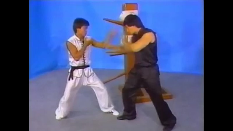 Choy Lay Fut Kung Fu Wooden Dummy Similar to Wing Chun 蔡李佛 Russian translatio