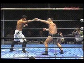 Minoru Suzuki vs. Masakatsu Funaki -  (AJPW Pro-Wrestling Love in Ryogoku Vol. 9)