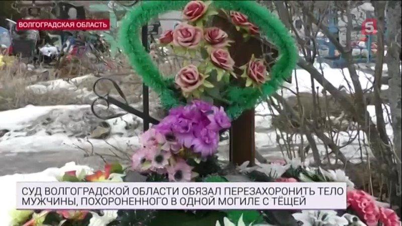 Крах загробного примирения суд постановил выкопать россиянина из могилы тещи