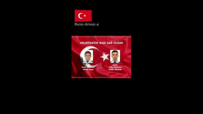 şehitlerölmezvatanbölünmezIrak Gara'da alçak terör örgütü PKK tarafından şehit edilen şehitlerimize Allah'tan rahmet diliyorum