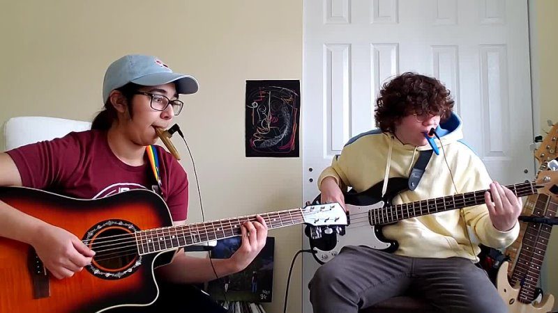 My friend Michael and I covered Hand Crushed By A Mallet on electric kazoos I sincerely hope you enjoy ❤️ gecs100