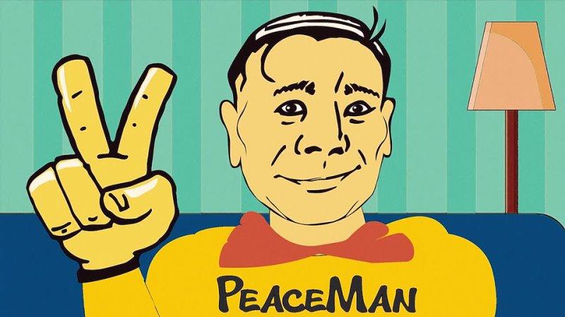 PeaceMan оживший комикс