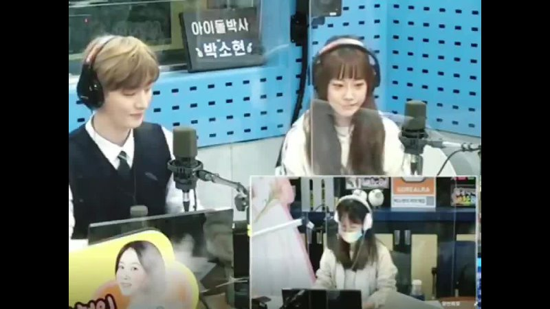 210505 SBS Power FM Park Sohyun's Love Game Love Episode segment with Hur Youngji and Yoon Jisung