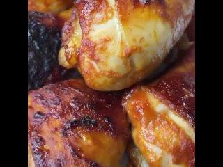 Потрясающий маринад для голеней и крыльев - румяная корочка, сочное мясо и пикантный соус для гарнира - идеально ✨Посмотреть ре