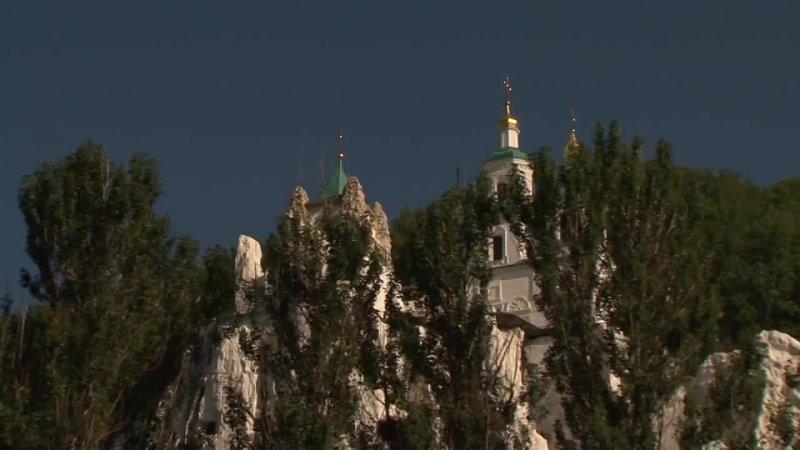 Преподобный Софроний старец Святых и Высоких гор документальный фильм Святогорская Лавра