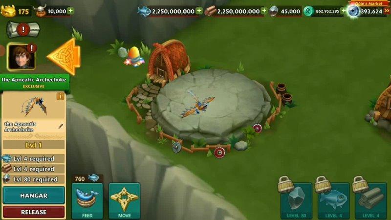 THE APNEATIC ARCHECHOKE THAWFEST EGG HUNT DRAGON Max Level 150 Titan Mode Dragons Rise of Berk696 views7 hours ago