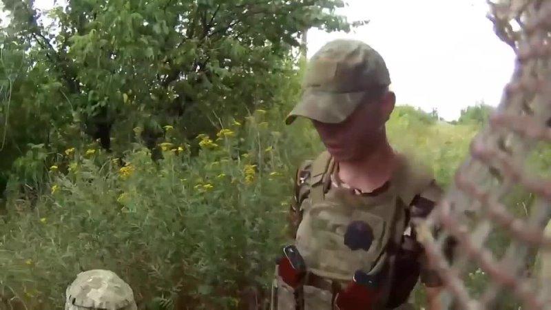 Андрей Марков Последние пол часа бойца ВСУ на Донбассе Видео с шлемной камеры 22 июля 2020