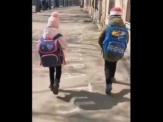 А теперь вспомни, как ты ходил в школу и носил тяжеленный портфель