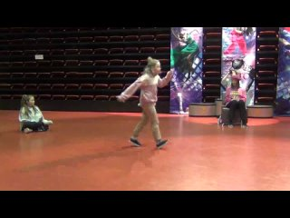 ОРТО • DANCE HISTORY CUP - 2021 • HIP-HOP BATTLE - KIDS 1/8 Настя