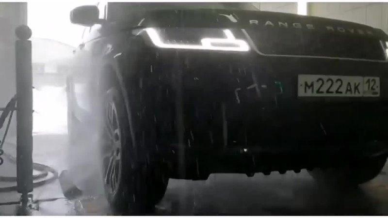 Умная роботизированная автомойка