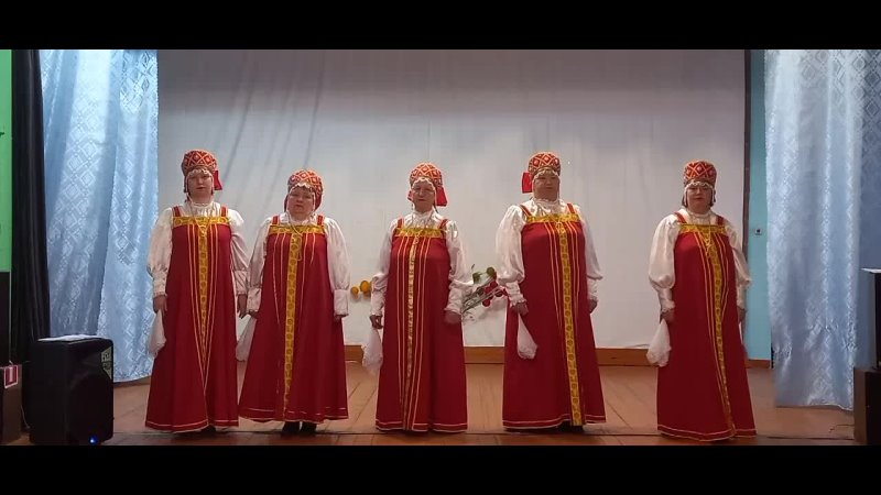 СДК п Львовка Вок группа Россияночка Голубка белая
