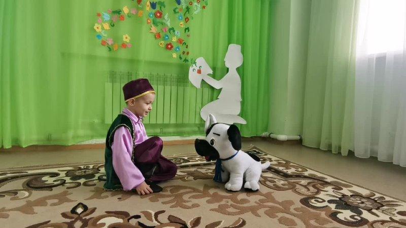 На конкурс Читаем Тукая. Участник № 88 - Даниил Федоров, 5 лет, Мамадышский район