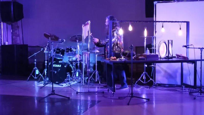Музыкально пластический перфоманс Жизнь звука Александра Томашёва и Дениса Дер