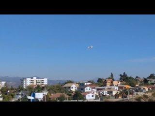 Ил-76 МЧС России помогает с тушением лесных пожаров в Чили | Комментарии иностранцев