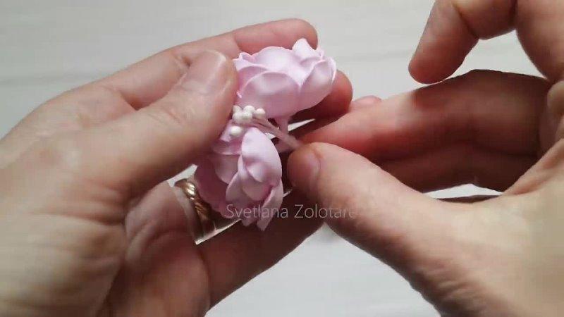 Теперь они мои ФАВОРИТЫ 😍 Удивительные цветы из фоамирана для причесок