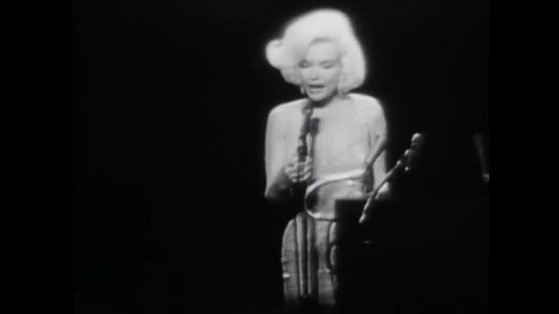 Marilyn Monroe Singing Happy Birthday Thanks For The Memories To President John F Kennedy 1962