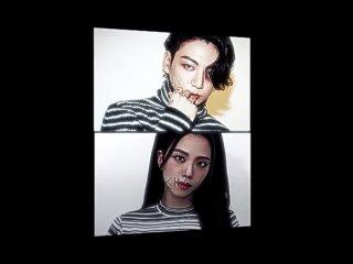 BLACKPINK x BTS vine ▸ Kim Jisoo x Jeon Jungkook