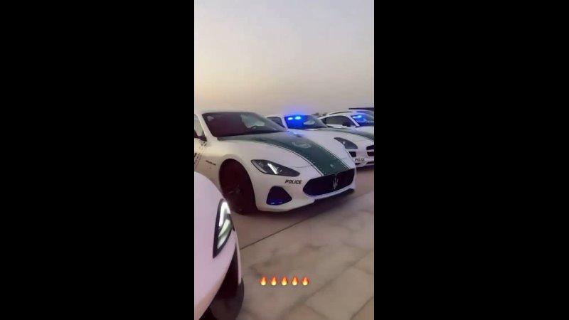 Обычная тусовка полиции в Dubai. Там главное не гонять, а то догонят)